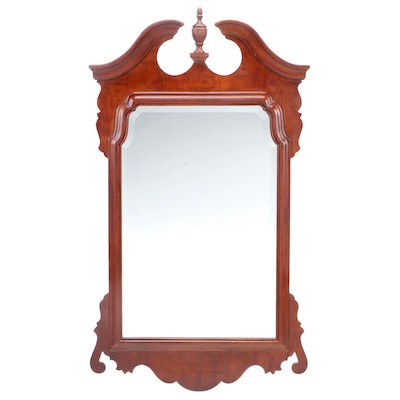 Henredon Salem Collection Cherry Beveled Wall Mirror
