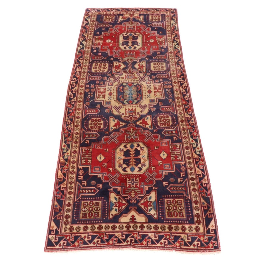 3'10 x 10'0 Hand-Knotted Persian Hamadan Rug