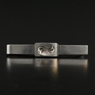 Vintage Georg Jensen Sterling Silver Tie Clip