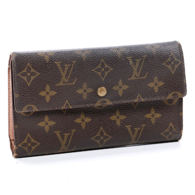Louis Vuitton Porte Tresor International Wallet in Monogram Canvas