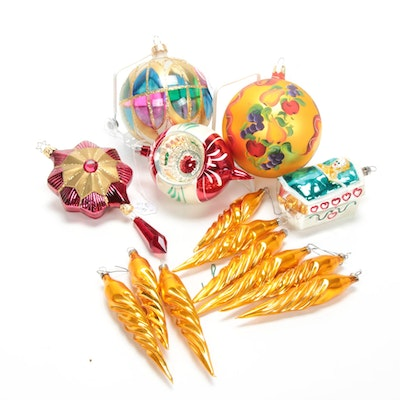 European Christmas Ornaments, 20th Century