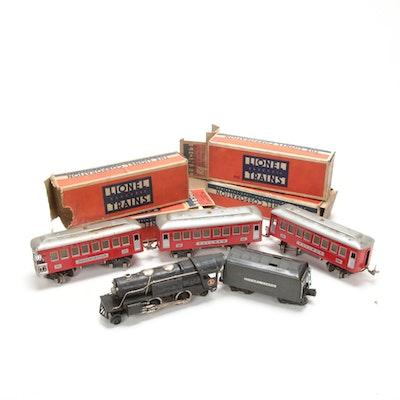 Lionel O Gauge Model Electric Train Cars