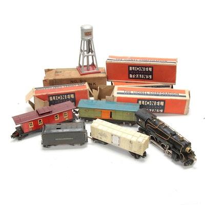 Lionel O Gauge Electric Train Cars