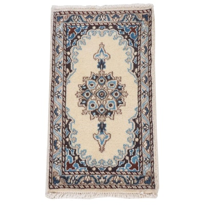 1'4 x 2'4 Rugs As Art Hand-Knotted Indo-Persian Tabriz Wool Accent Rug