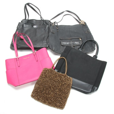 Anteprima Wire Bag, Michael Kors Pink Saffiano, Calvin Klein and More Handbags