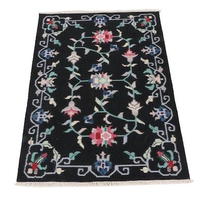4'4 x 6'4 Handwoven Indo-Persian Kilim Rug
