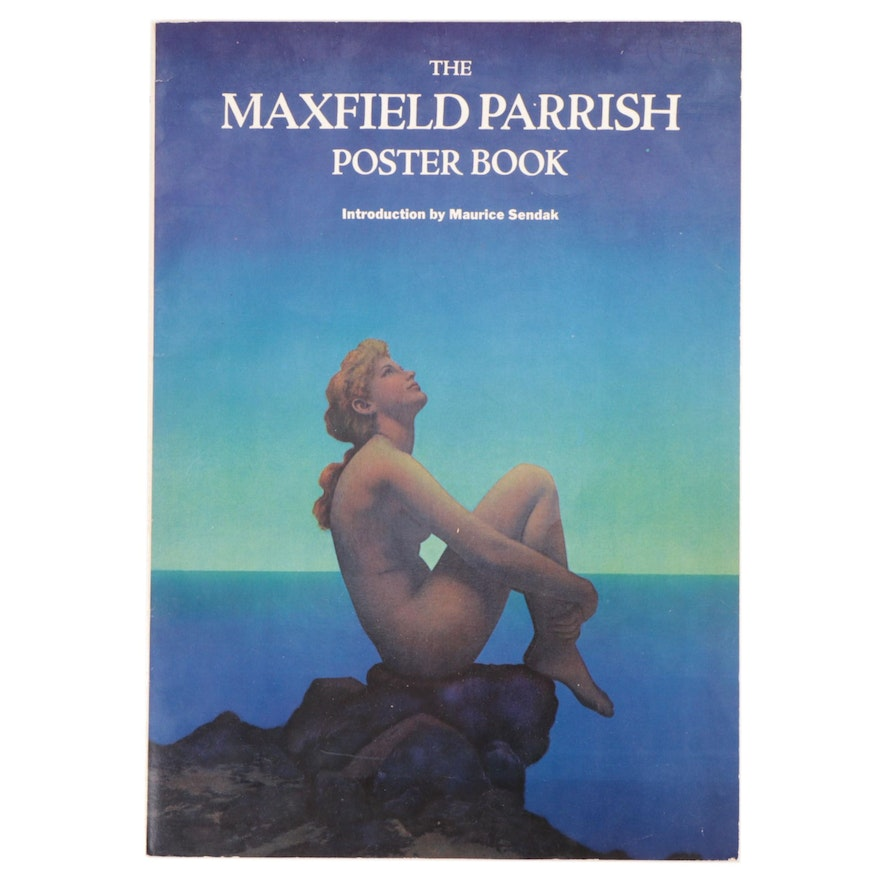 """The Maxfield Parrish Poster Book"" with Introduction by Maurice Sendak, 1974"