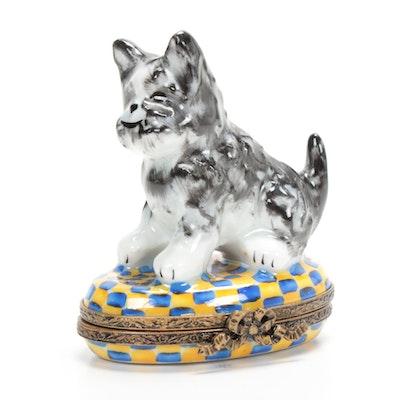 Pierre Arquie Hand-Painted Porcelain Limoges Box