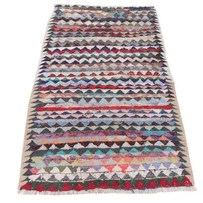 5'4 x 9'7 Handwoven Persian Kilim Rug