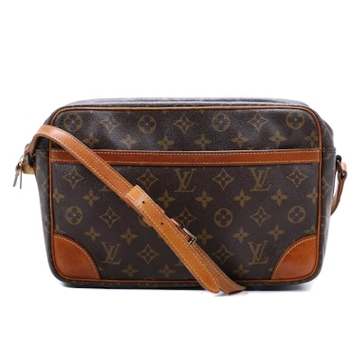 Louis Vuitton Trocadero Crossbody in Monogram Canvas and Vachetta Leather