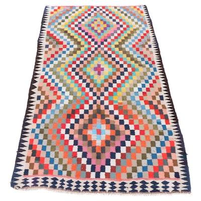 5'3 x 9'8 Handwoven Persian Kilim Rug