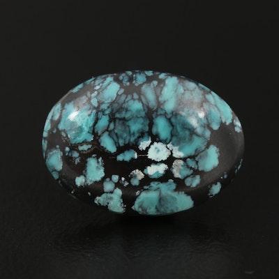 Loose Oval Cabochon Turquoise Gemstone