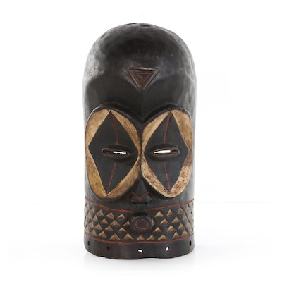 African Goma Wood Mask