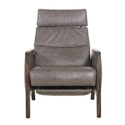 "Michael Weiss For Vanguard Furniture ""Bayberry"" Leather Recliner"
