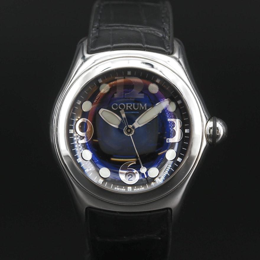 Corum Bubble Stainless Steel Quartz Wristwatch