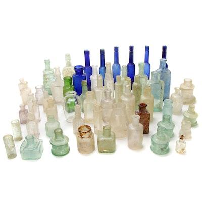 Antique Elixir, Poison, Perfume and Tonic Bottles