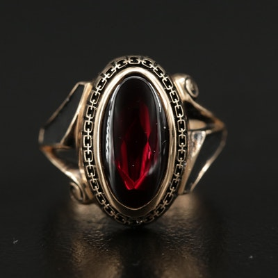 Jostens 14K Ruby Ring