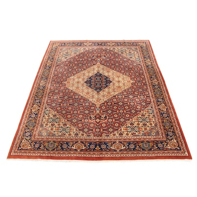 8'11 x 11'11 Hand-Knotted Sino-Persian Bijar Room Sized Rug, 2000s