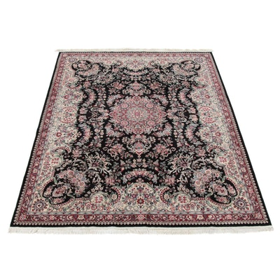 8'0 x 10'6 Hand-Knotted Sino-Persian Tabriz Room Sized Rug, 2000s