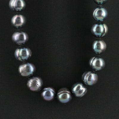 Strand of Pearls with 14K Clasp