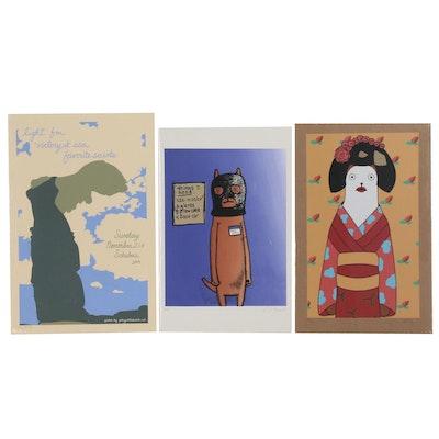 Kristin Thiele Serigraph Posters