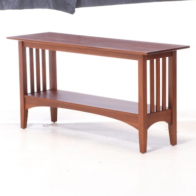 "Ethan Allen ""American Impressions"" Cherry Console Table"