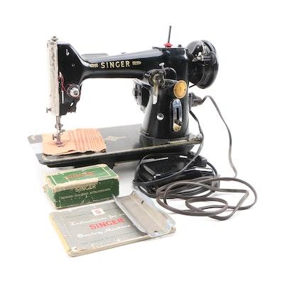 Singer Model 206 Sewing Machine, Mid-20th Century