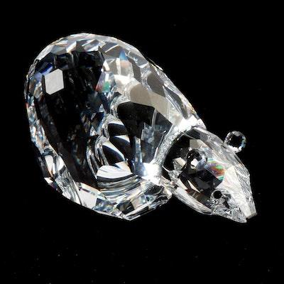 Swarovski Silver Crystal Polar Bear Figurine