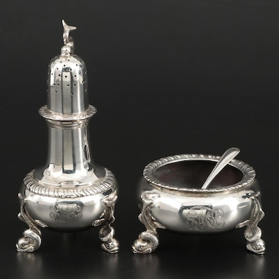Hardy & Hayes Sterling Silver Reproduction Salt Cellar, Pepper Shaker and More