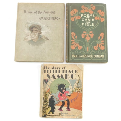 "Poetry and Children's Books Including ""Rime of the Ancient Mariner"" by Coleridge"
