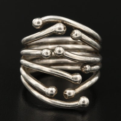 Sterling Silver Soldered Wire Open Shank Ring