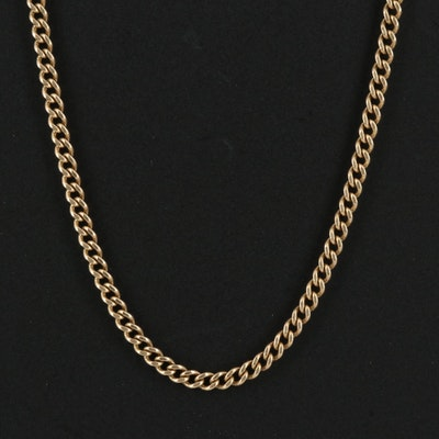 14K Curb Link Chain
