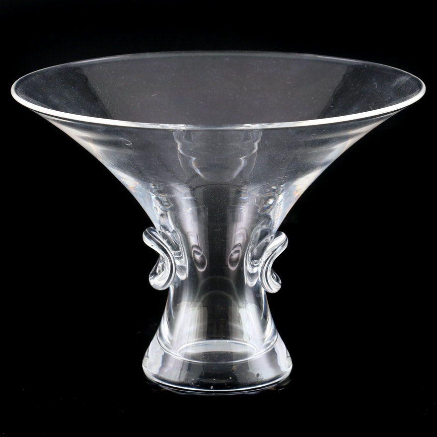 """Steuben Art Glass """"Signet"""" Bouquet Vase"""