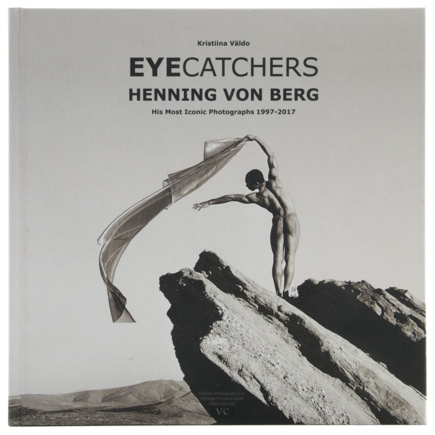 "Signed ""Eyecatchers: Henning Von Berg"" Edited by Kristiina Väldo, 2018"