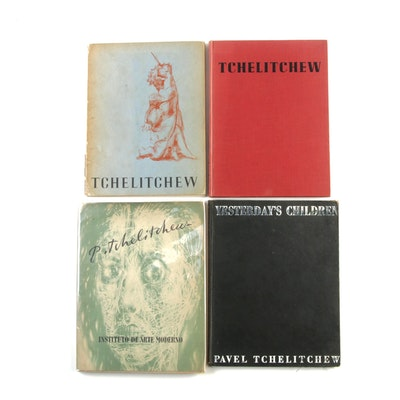 "Pavel Tchelitchew Art Books Including ""Pinturas y dibujos 1925–1948"""