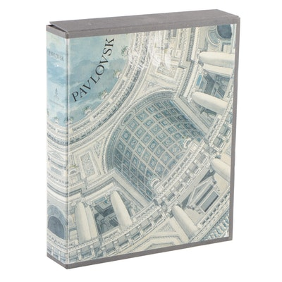 """Pavlovsk"" Two-Volume Set Edited by Emmanuel Ducamp with Cloth Case, 1993"