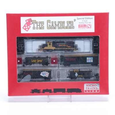 """""""The Gambler"""" Micro-Train N Scale Set, Special Edition"""