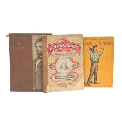 """The Heroic Life of Abraham Lincoln"" and Other Lincoln Books, Late 1800s"