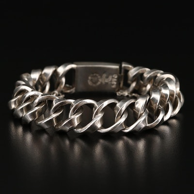 Margot de Taxco Mexican Sterling Silver Bracelet
