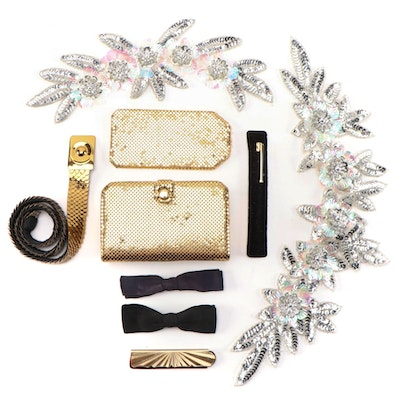Barbara Bates Metallic Manicure Set, Stratton Folding Comb and Other Accessories