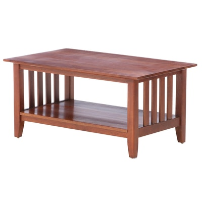 "Ethan Allen ""American Impressions"" Cherry Coffee Table"