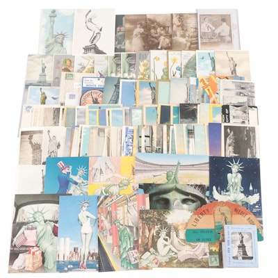 Postcards and Greeting Cards Featuring Hudson Talbot Statue of Liberty Series