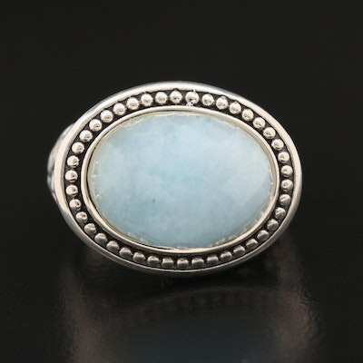 SeidenGang Sterling Silver Aquamarine Ring