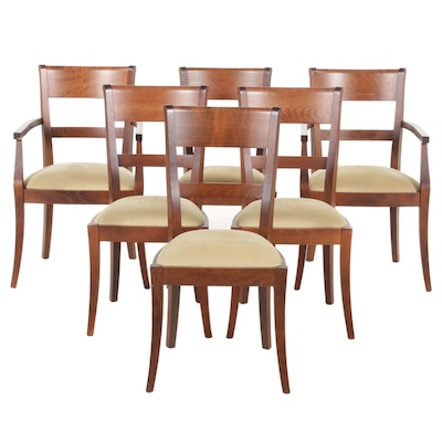 Pottery Barn Dining Chairs, Set of Six, Contemporary