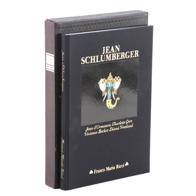 """Jean Schlumberger"" by Jean d'Ormesson et al. with Clamshell Case, 1991"