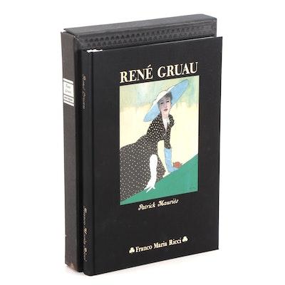 """Dual Language """"René Gruau"""" by Patrick Mauriès and René Gruau, 1984"""