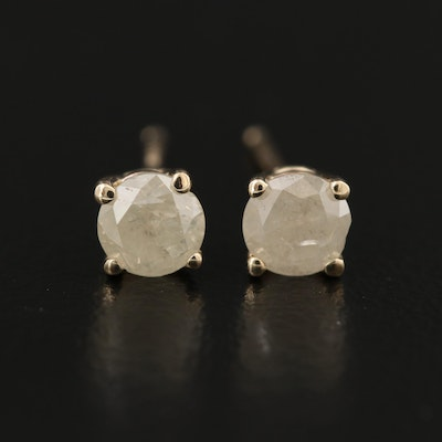 14K 0.70 CTW Diamond Stud Earrings