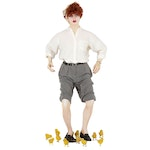 """I Love Lucy """"Lucy Raises Chicks"""" Life Size Mannequin, Universal Studios Display"""