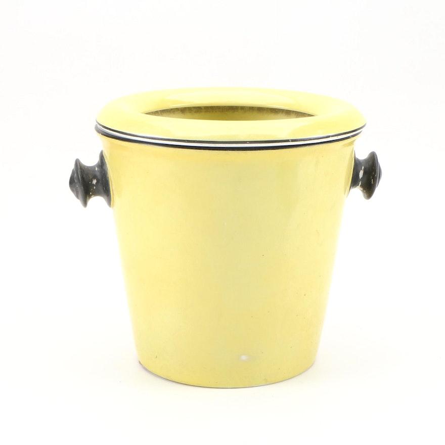 Soho Pottery Ltd. Earthenware Slop Jar, Early 20th Century