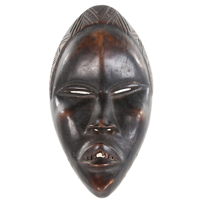 Dan Style Dean Gle Wooden Carved Mask